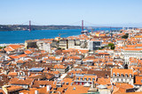 Aerial view of Lisbon, Portugal - 191348906