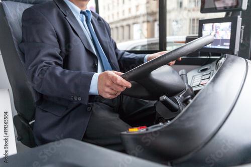 Fototapeta Bus driver