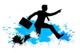 Running Business Man - 10 - 191370100