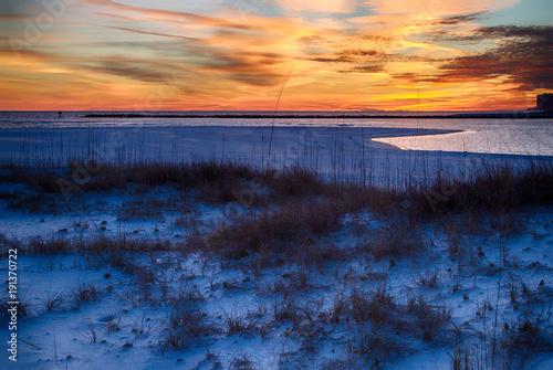 Sunset on Orange Beach, Alabama