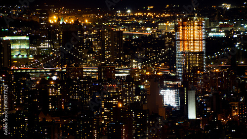 Obraz na Szkle Manhattan