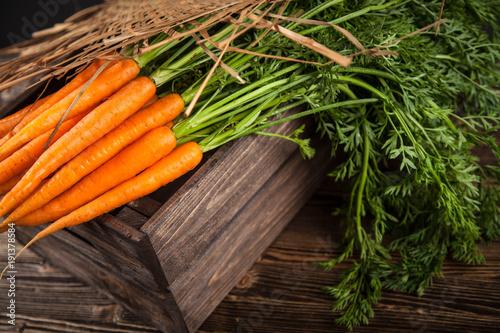 Fresh organic carrot - 191378584