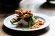 fried catfish / chicken - 191396590