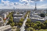 Champs Elysées et sa vue imprenable sur la Tour Eiffel