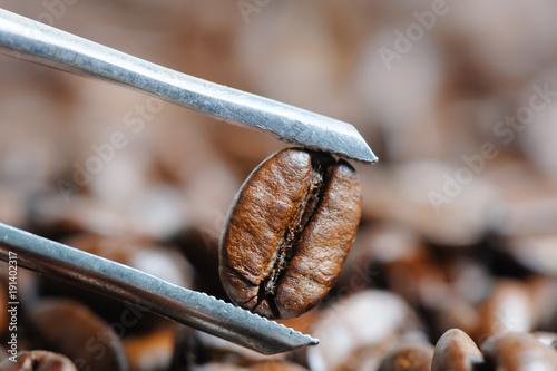 Papiers peints Café en grains roasted coffee beans macro