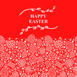 Easter decorative card - 191402947