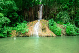 Waterfall, Tropical Climate, Rainforest, Water, Plant