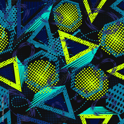 abstract-grunge-sport-muster-kinder-fur-madchen-und-jungen-kreatives-sportvektormuster-mit-punkten-dreieck-linien-polygon-lustige-tapete-fur-textil-und-stoff-mode-sport-muster-stil
