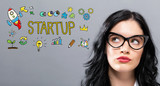 Startup with young b...