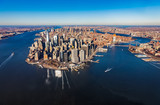 New York Manhattan aerial - 191439512
