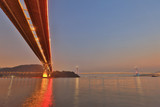 the Ting Kau bridge at ngau lan tsui