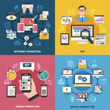 Internet Marketing Design Concept  - 191455583