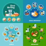Breakfast 2x2 Icons ...
