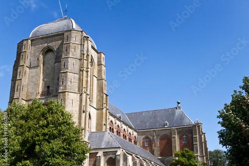 Kathedrale in Veere, Zeeland