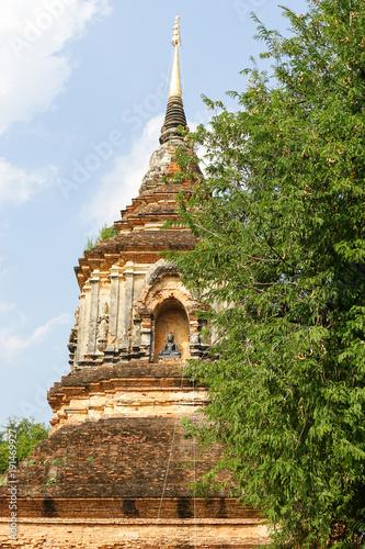 Fotobehang Thailand Temple Wat Lok Molee in Chiang Mai, Thailand
