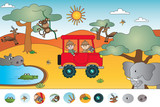 game for children: visual game - 191474962