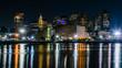 Night skyline of Boston