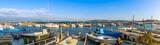 Panoramique du port de La Pointe Courte à Sète, Hérault en Occitanie, France