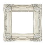 Cadre shabby chic blanc - 191480911