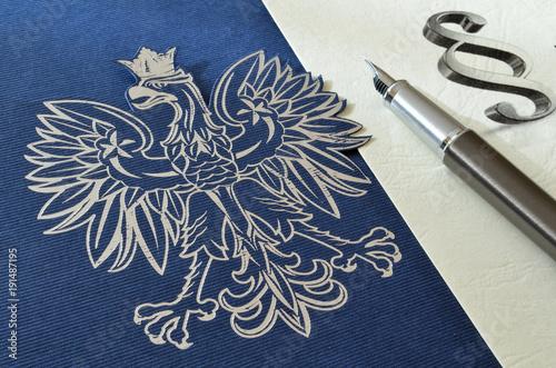 Aluminium Eagle Godło Rzeczypospolitej Polskiej