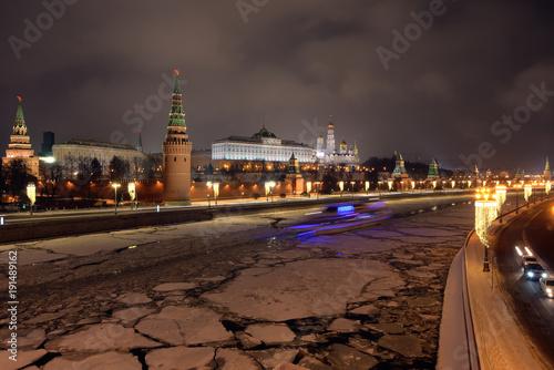 Fotobehang Moskou Moscow Kremlin