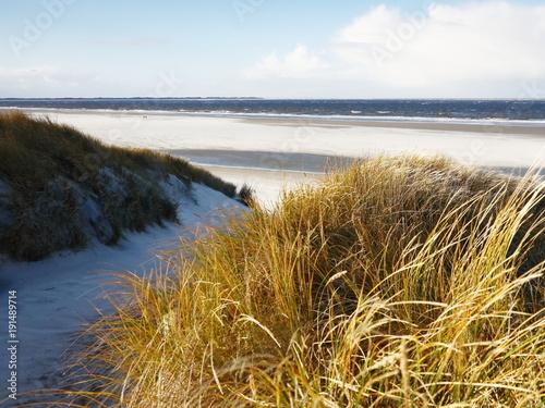 Aluminium Noordzee Strandübergang zur Nordsee
