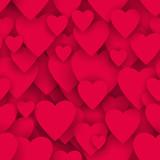 serca bezszwowe tło wektor - 191492943