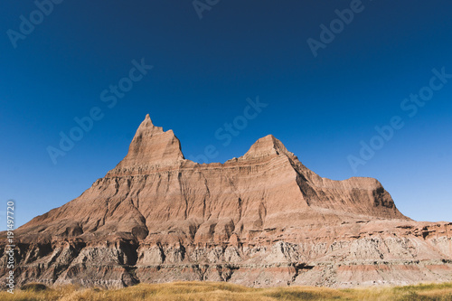 Fotobehang Zalm Badlands 2