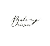 Hand drawn vector abstract modern cooking time handwritten ink textured calligraphy logo,label or sign with Bakery classes text isolated on white background - 191502574