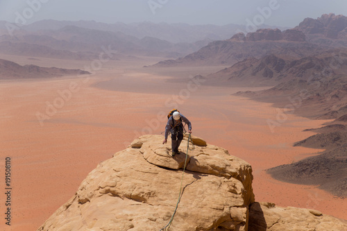 Fotobehang Zalm #1 on Jebel Swaibath