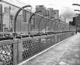 Beautiful view of Sydney skyline from the bridge walkway - 191514333