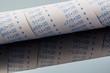 calculation strip of calculator - 191518170