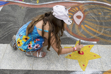 Street art enfantin