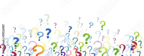 punti interrogativi, domande, domandare