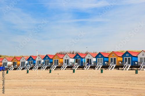 In de dag Noordzee Am Strand von Zeeland