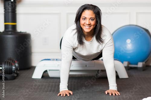 Plexiglas Fitness Home Gym Workout