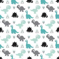 seamless dinosaur pattern © makc76