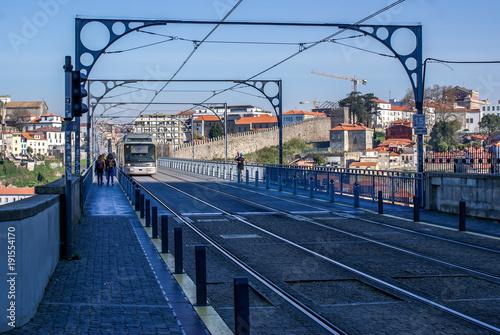 Papiers peints Voies ferrées Porto, Portugal