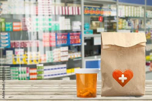 Staande foto Apotheek Pharmacy.