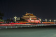 Tiananmen tower in the night