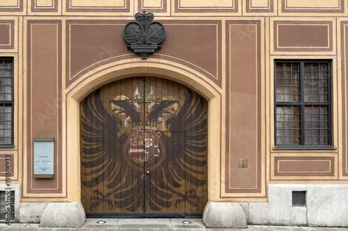 Augsburg historisches Tor FUgger Adlertor