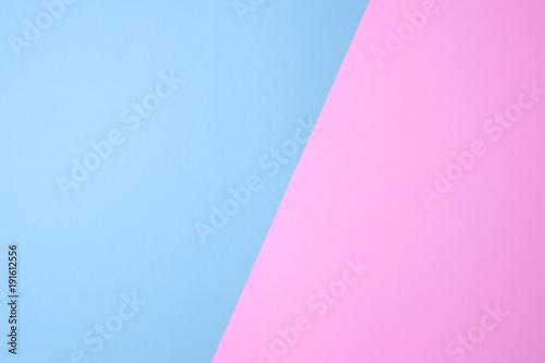 niebieski i różowy lub fioletowy kolor papieru pastelowego na tle