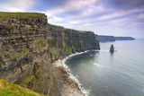 Cliffs of Moher in Ireland at cloudy day, Co. Clare - 191631921