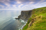 Cliffs of Moher in Ireland at cloudy day, Co. Clare - 191631948