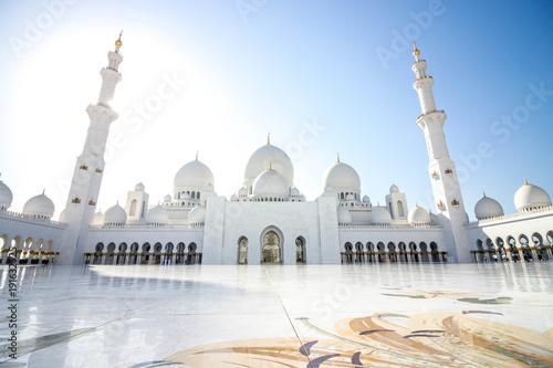 Deurstickers Abu Dhabi Sheikh Zayed Mosque 2