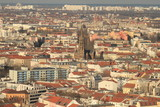 Berliner Häusermeer; Blick vom Alexanderplatz nach Norden - 191635127