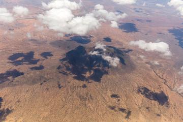 Luftaufnahme von Tansania