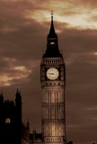 Lights of Big Ben at Dusk - London - 191650551
