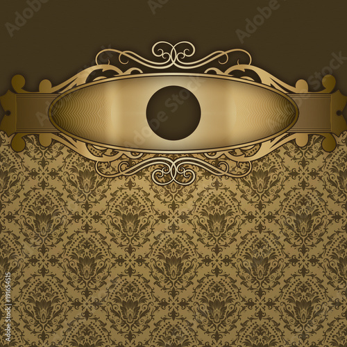 luxury-retro-background-with-decorative-frame