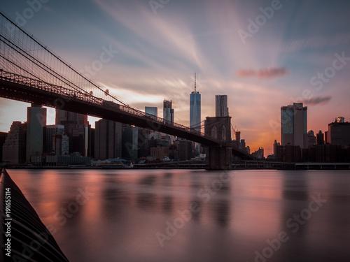 Fotobehang Brooklyn Bridge New York 2017